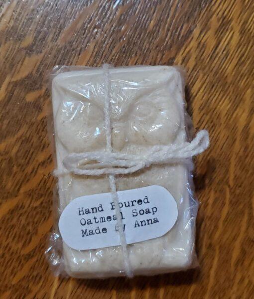 Oatmeal owl soap