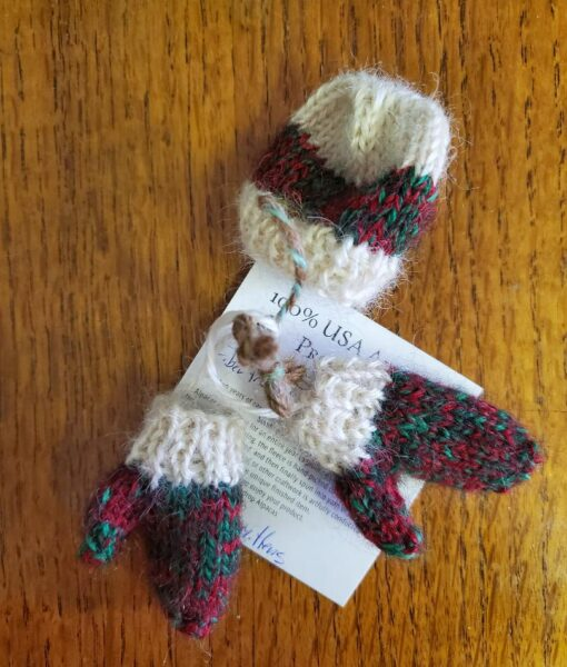 mini mitts and hat
